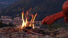 Free Campfire, Wilderness, Geological Phenomenon, Fire Stock Photos - 110938463
