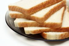 Free Slices Of White Bread Royalty Free Stock Image - 1110666