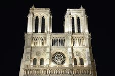 Free Notre Dame In Paris Stock Image - 1111561