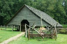 Free Rustic Tnnessee Barn Royalty Free Stock Photos - 1111858