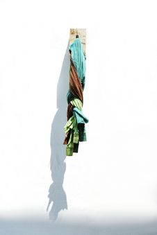 Hanging Cloth Royalty Free Stock Images