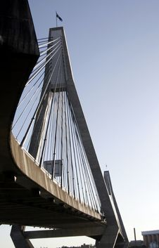 Free Anzac Bridge Royalty Free Stock Image - 1113006