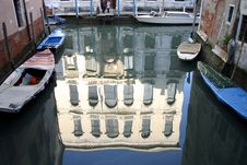 Free Reflection Of Venice Royalty Free Stock Image - 1113586