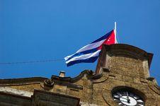 Free Cuban Flag Stock Image - 1115991