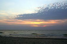 Sunset In Michigan Royalty Free Stock Photo