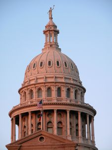 Free Texas Capitol Dome Stock Image - 1116311