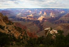 Free Scenic View Of Grand Canyon Royalty Free Stock Photos - 1116878