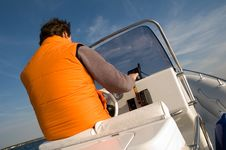 Speedboat 14 Stock Image