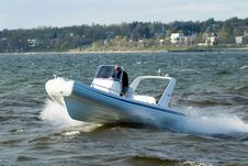 Free Speedboat 21 Royalty Free Stock Photo - 1117245