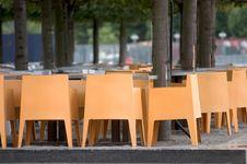 Deserted Cafe Royalty Free Stock Image