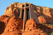 Chapel Of The Holy Cross Royalty Free Stock Images