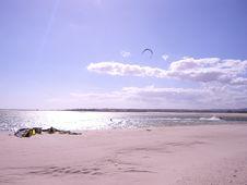 Free Kiters Paradise Royalty Free Stock Photos - 1118038