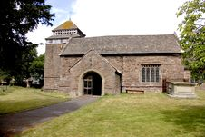 Free Church Of St Bridget - Skenfrith South Wales Stock Photo - 1119400