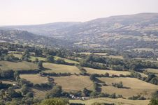 Free Welsh Valley Stock Photography - 1119512