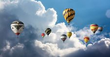 Free Hot Air Ballooning, Hot Air Balloon, Sky, Cloud Stock Photo - 111026760