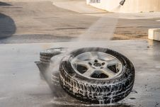 Free Tire, Automotive Tire, Wheel, Automotive Wheel System Royalty Free Stock Photos - 111027098