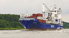 Free Container Ship, Ship, Water Transportation, Panamax Stock Photography - 111028122