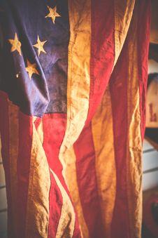 Free United States Of America Flag Stock Photo - 111070320