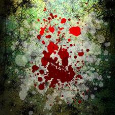 Free Grunge Blood Background Royalty Free Stock Photos - 11113108