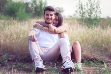 Free Photograph, Grass, Emotion, Sitting Stock Images - 111108664