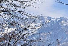 Free Areal Photograph Of Snowy Mountains Royalty Free Stock Photos - 111170228