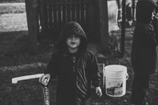 Free Boy Wearing Zip-up Hoodie Royalty Free Stock Photography - 111217247