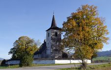Free Tree, Church, Sky, Place Of Worship Stock Images - 111420914
