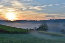 Free Sky, Dawn, Morning, Mist Royalty Free Stock Photography - 111421297