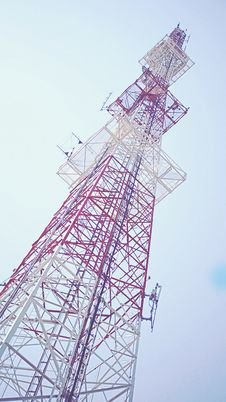Free Low-angle Photography Of Transmission Tower Stock Image - 111457461