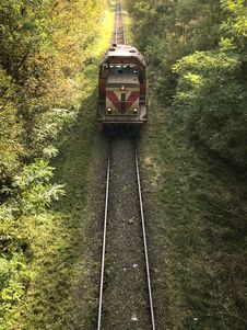 Free Track, Transport, Rail Transport, Tree Royalty Free Stock Image - 111485526