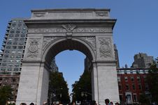 Free Arch, Triumphal Arch, Landmark, Monument Stock Images - 111486904