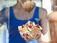 Free Ice Cream, Dessert, Ice Cream Cone, Food Stock Photo - 111487520