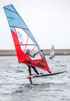 Free Windsurfing, Sail, Water Transportation, Dinghy Sailing Stock Image - 111487861