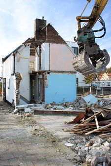 Free Demolition, Building, Facade, House Stock Photography - 111498642
