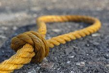 Free Rope, Hardware Accessory, Knot Stock Photography - 111498802