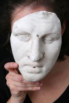 Free White Mask Royalty Free Stock Photos - 11158828