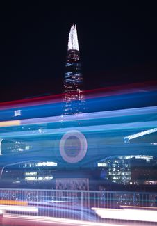 Free Photo Of The Shard Building During Night Time Stock Photo - 111545480
