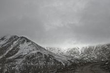 Free Snow Covered Mountain Stock Photography - 111545512