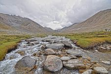 Free Photo Of River Filled With Bolder Rocks Stock Photo - 111545520