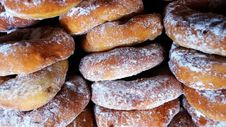Free Cooked Doughnut Lot Royalty Free Stock Photography - 111615107