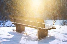 Free Snow, Winter, Freezing, Wood Royalty Free Stock Image - 111642656