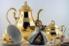 Free Tableware, Kettle, Teapot, Porcelain Stock Image - 111642801