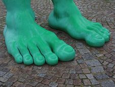Free Green, Foot, Leg, Shoe Stock Photos - 111643023