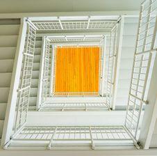 Free White Stairway Royalty Free Stock Image - 111685576