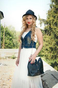 Free Clothing, Fashion Model, Beauty, Fashion Royalty Free Stock Image - 111719776