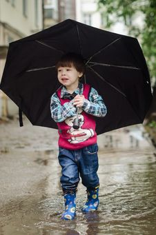 Free Umbrella, Fashion Accessory, Fun, Child Stock Photo - 111720000