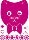 Free Icon Cat Right Round Stock Photo - 11188620