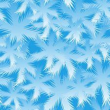 Free Seamless Spruce Snowflake Pattern Royalty Free Stock Photos - 11181488