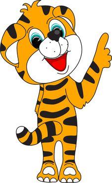 Free Tiger Orange Red 2010 Stock Images - 11187894