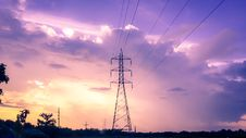 Free Photography Of Electric Tower During Sunset Royalty Free Stock Photography - 111823767